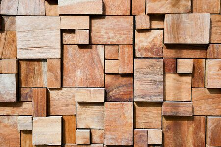 wood panel: Square modern decorated wood background