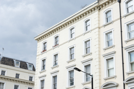 British style building, South Kensington, London Stock Photo