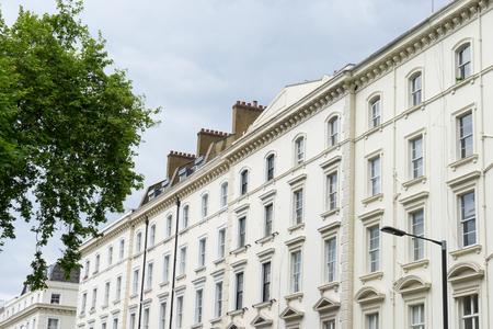 Britse stijlgebouw, South Kensington, Londen