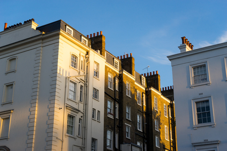 British style building, South Kensington, London Editorial