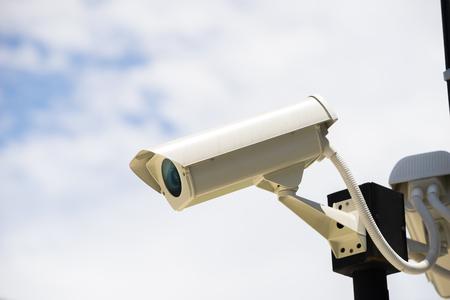 CCTV camera in home village