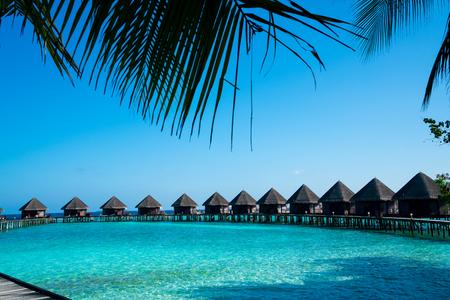 Maldives beach resort – summer vacation