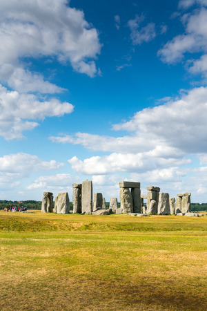 Stonehenge, england, UK in summer Banque d'images