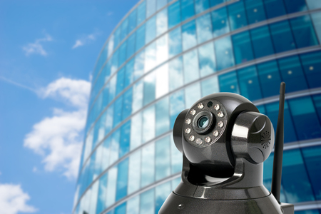 CCTV security camera in locations