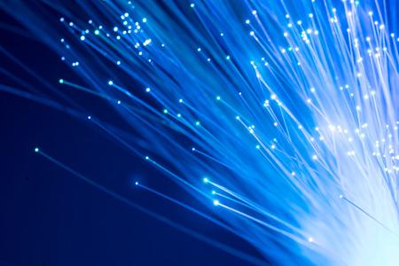 Fiber optics, abstract & blur background