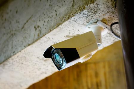CCTV camera in restaurant, office Imagens