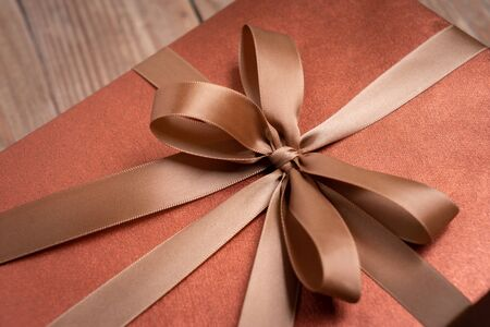 Gift box for decoration, New year and Christmas day Stock fotó