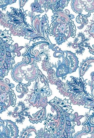 disegni cachemire: etnica motif46 Vettoriali