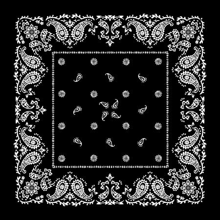 paisley pattern: bandana