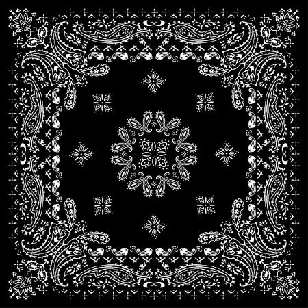 motif cachemire: bandana90