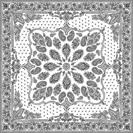 paisley design: bandana