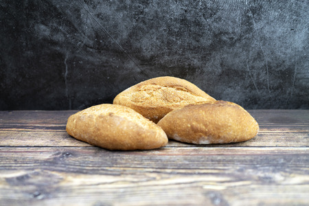 selective focus of bread  for background and inspiration or bookcover