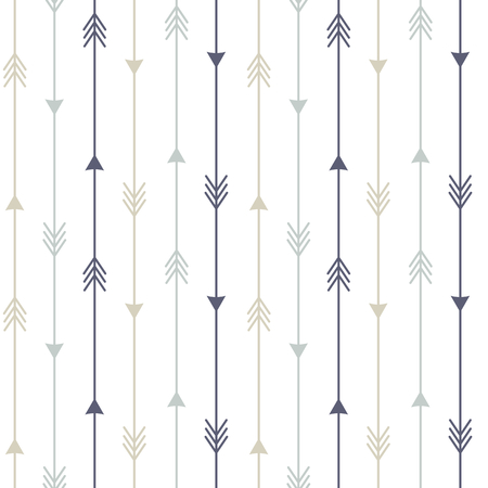 arrows background: colorful arrows seamless pattern vector background illustration Illustration
