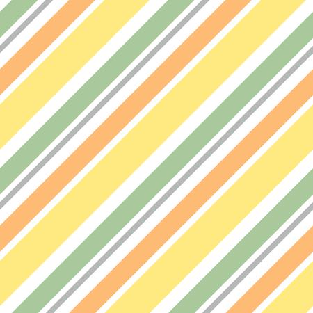 diagonal stripes: cute colorful diagonal stripes pattern seamless vector background illustration Illustration