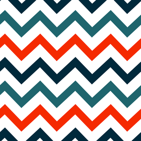 zig zag: colorful abstract zig zag pattern background seamless vector illustration