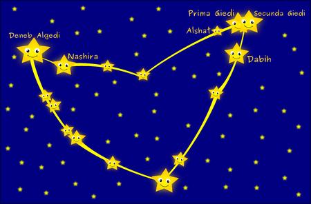 capricornus: Capricornus constellation