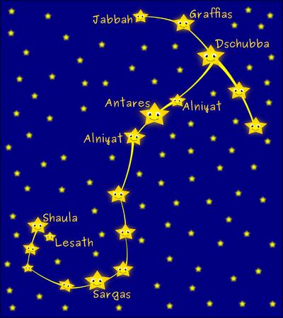 constelacion: constelaci�n de Escorpio