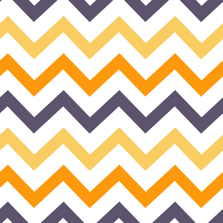 colorful seamless pattern vector illustration with zig zag stripes