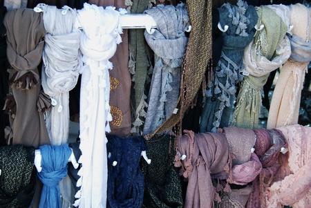 sciarpe: Sciarpe Archivio Fotografico