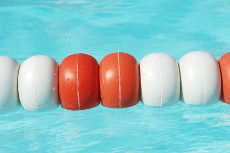 buoys: Buoys in pool
