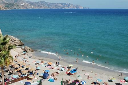 nerja: Beach Nerja, M�laga