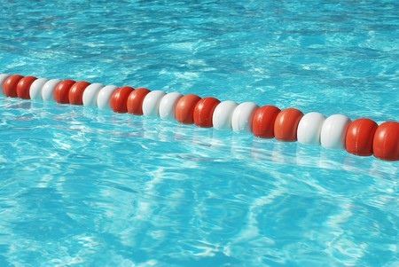 buoys: Buoys in pool