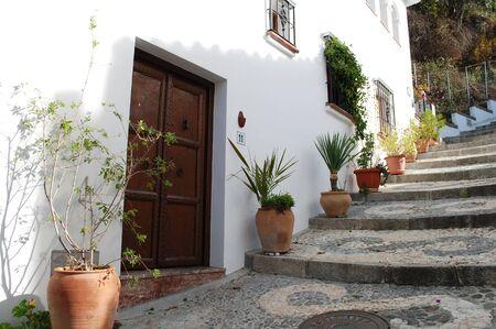 Frigiliana village in Malaga Stock Photo