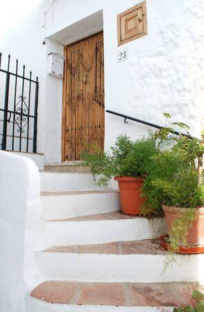 Malaga Frigiliana village