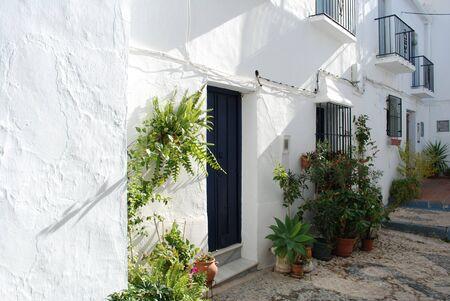 frigiliana: Frigiliana town in Malaga