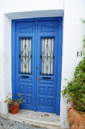 frigiliana: Door in the village of Frigiliana