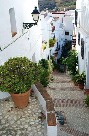 Frigiliana town in Malaga