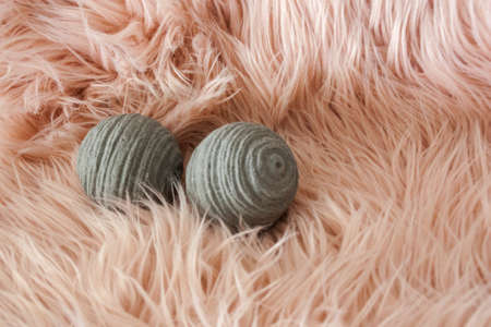 ball yarn isolated string roll background white twine clew rope knitting natural concept.