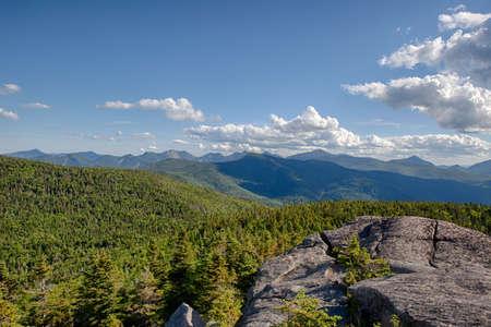 Cascade Mountaintop Stock Photo