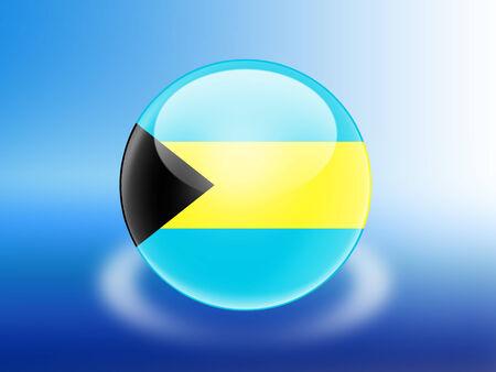 bahamas: Bahamas flag Stock Photo