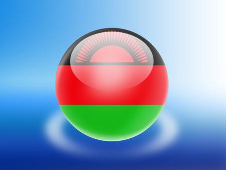 malawi: malawi flag Stock Photo