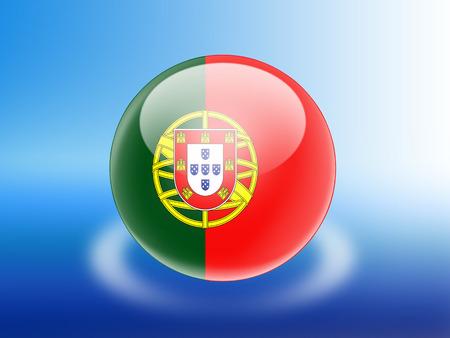 drapeau portugal: Portugal flag Banque d'images
