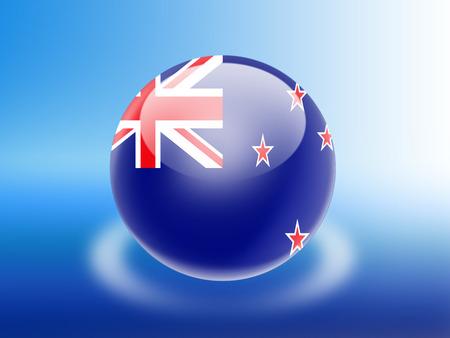 new zealand flag: New Zealand flag Stock Photo