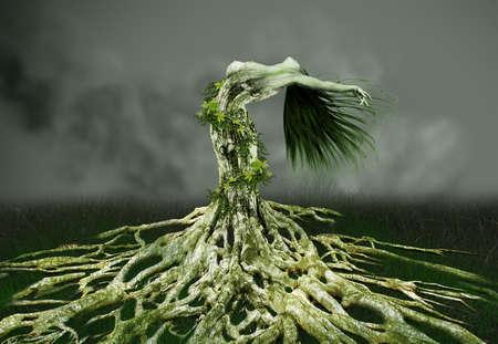 digital art: Fantasy created in digital art