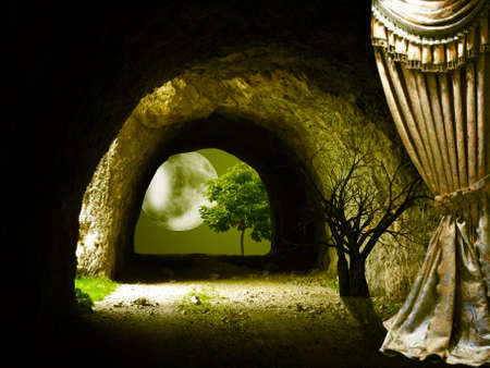 Fantasy created in digital art
