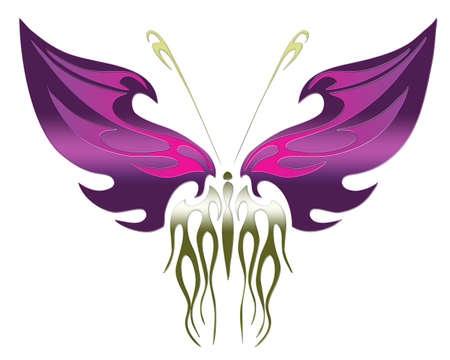 larvae: butterfly