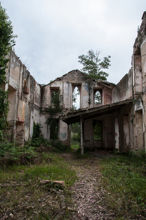 Old and abandoned monastery