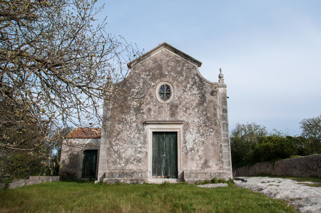 Old and abandoned chapel