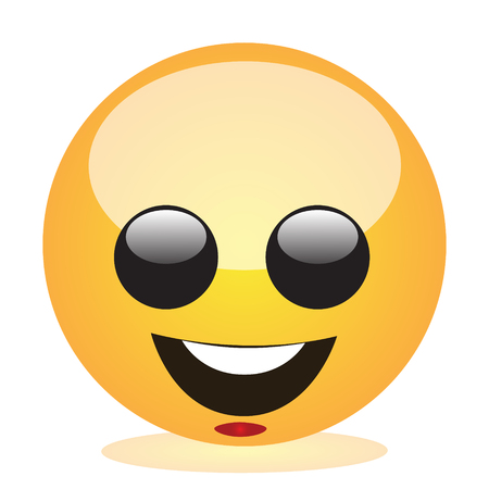 Emoji of a face of a smiling boy