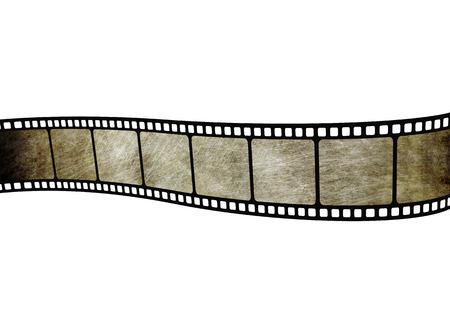 Illustration of analog movie film