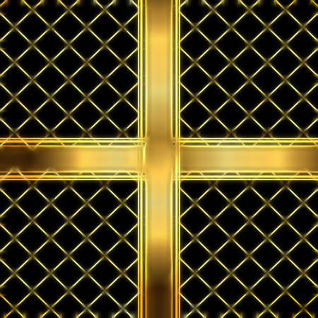 Abstract golden Christmas background Stock Photo
