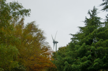 Renewable and clean energy with windmills