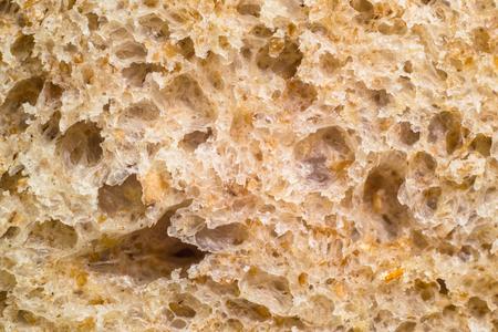 Graham: Macro of graham bread texture