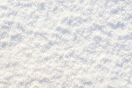 White texture of snow, background, snowflakes surface Standard-Bild