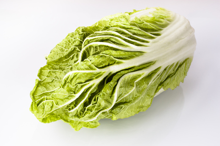 bok choy: Chinese cabbage isolated on white background Stock Photo