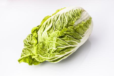 Chinese cabbage isolated on white background Stock Photo